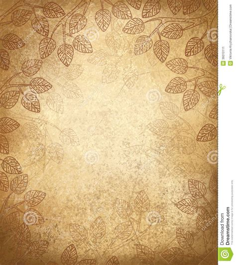 vector leaves pattern   paper background stock