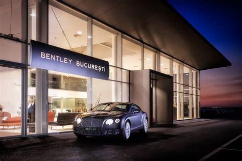 Bentley Showroom In Bucharest