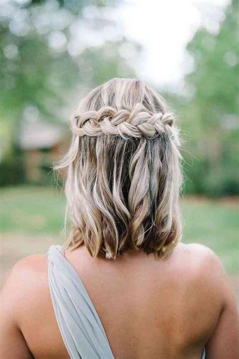 coiffure pour invitée mariage cheveux mi coiffure invit 233 mariage 2018 cheveux mi