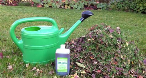 Em Garten Im Herbst by Effektive Mikroorganismen In Ihrem Garten Im Herbst