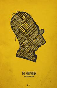37 Posters by Jerod Gibson! Typographic Movie Posters ...