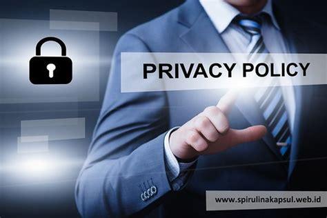 Kebijakan Privasi Spirulina Kapsul