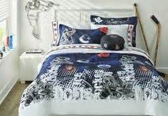 nhl 174 comforter set boy s bedroom pinterest nhl