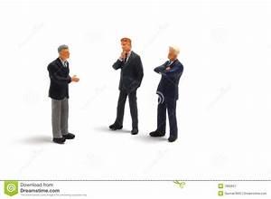 Business People On White Background Stock Image - Image ...
