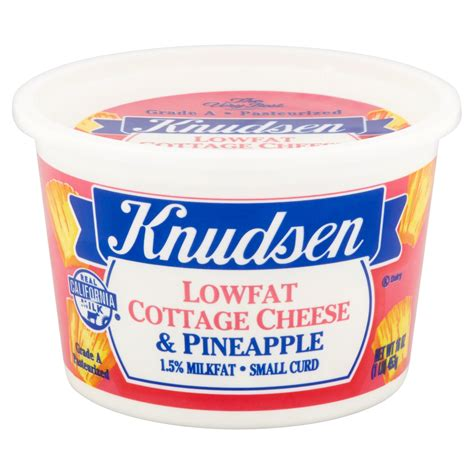 Hood Fat Free Cottage Cheese With Pineapple Nutrition
