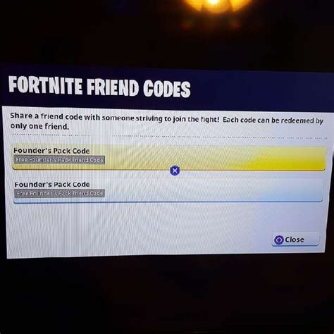 ps fortnite standard edition friend code ps games