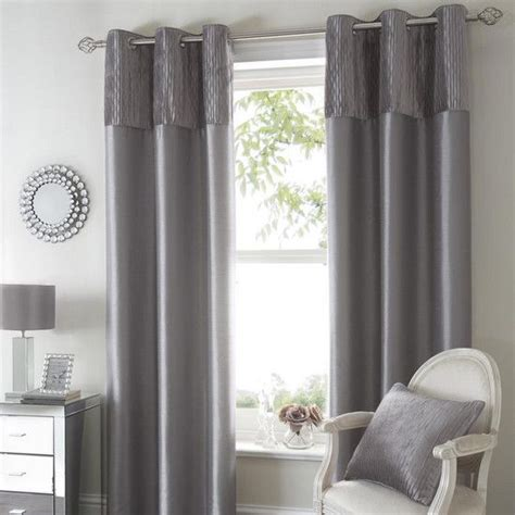 silver opulence curtain collection dunelm decoration