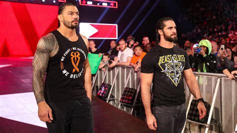 wrestling news wwes roman reigns  seth rollins title