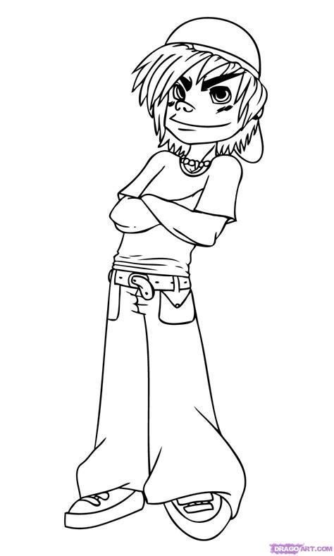 draw  cartoon kid step  step figures people