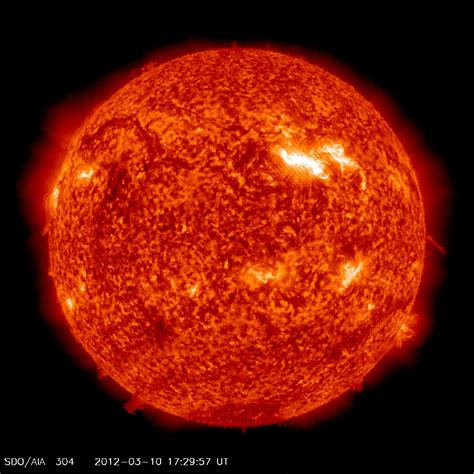 NASA - Moderate Geomagnetic Storm at Earth