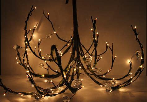 branch chandelier mossy woodland tree branch twig wedding chandelier in