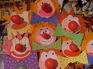 Ideen Für Karneval : paper plate clowns diy ideen f r kinder pinterest clown crafts crafts for kids und ~ Frokenaadalensverden.com Haus und Dekorationen