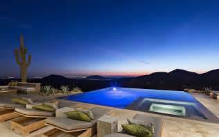 single wide mobile home interior design infinity pool lighting mountain city views