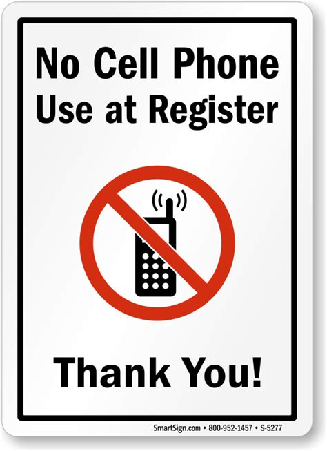 14 In X 10 In No Cell Phone Use At Register Sign, Sku S. Pelican Signs. Well Signs. Reception Signs Of Stroke. Salt Signs. April 19 Signs. Son Signs. Guest Signs Of Stroke. Demolition Signs