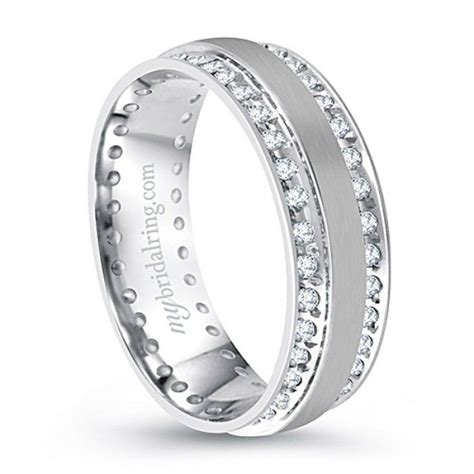 333 best mens white gold wedding bands with diamonds white gold wedding