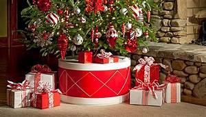 Drum-Shape Christmas Tree Stand