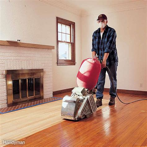 flawless floor sanding  family handyman