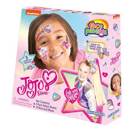 face paintoos jojo siwa pack playmonster