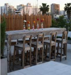 17 best ideas about outdoor bar table on