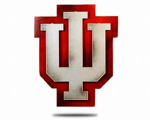 Indiana University Custom Artwork - Hex Head Art