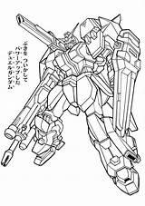 Gundam Coloring Printable Coloringideas Club Sheets Line sketch template