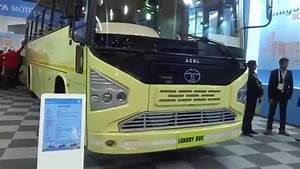 Tata Motors ACGL Luxury Bus at Bus & Special Vehicle Show ...