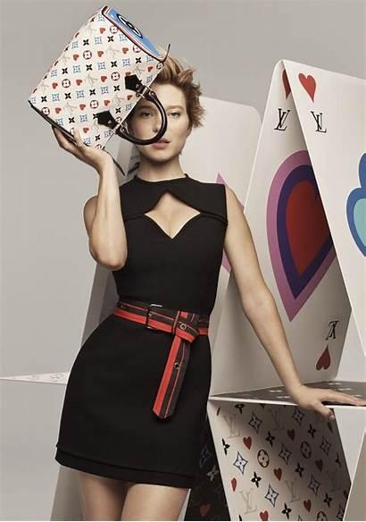 Vuitton Louis Cruise Seydoux Lea Campaign Resort