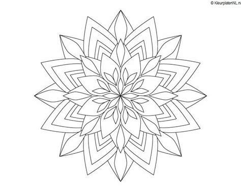 Kleurplaat Mandla by Mandala Kleurplaat Kleurplaten 3035 Kleurplaat Kleuren Net