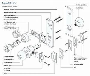 Door Knob Parts Diagram Lock Parts Diagram Free Forms Door Knob Parts Diagram Door Hardware