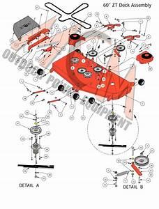 Bad Boy Mower Part  2016 Zt Elite 60 U0026quot  Deck Assembly