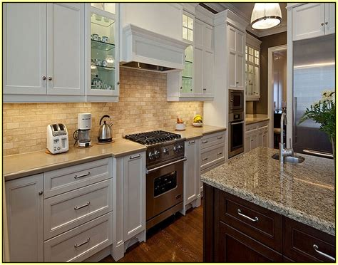 Glass Backsplash Ideas With White Cabinets by Glass Tile Kitchen Backsplash White Cabinets Home Design