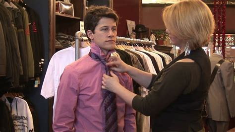 Mens Fashion Tips How To Tie A Shirt Tie Youtube