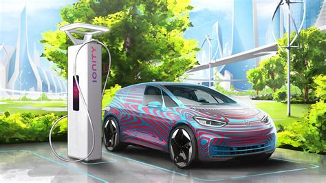 For Electric Cars by Volkswagen Will Install 36 000 Charging Stations For
