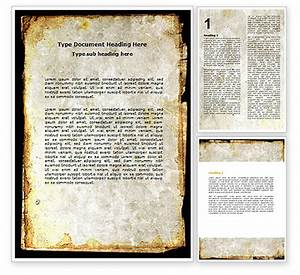 Rusty background word template 06808 poweredtemplatecom for Word background template