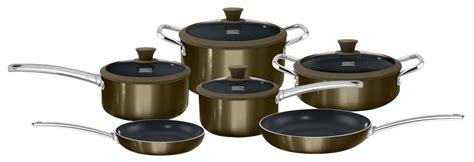 kenmore  pc ceramic cookware set gunmetal shop    shopping earn points