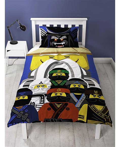 Lego Ninjago Movie Guru Single Duvet Cover And Pillowcase Set