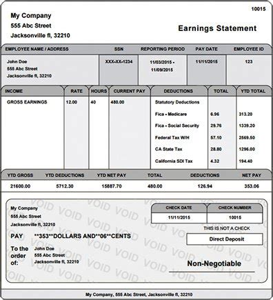 Free Pay Stub Template With Calculator Pay Stub Template With Auto Calculator Upcomingcarshq