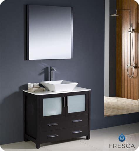 home depot bathrooms design fresca torino 36 quot espresso modern bathroom vanity with