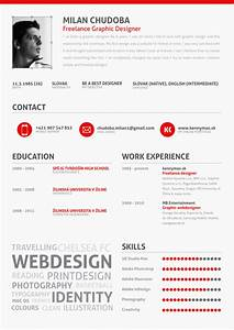14 stunning examples of creative cv resume ultralinx With creative resume examples