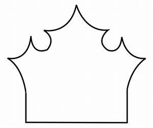 crown stencil template clipart best With tiara template printable free