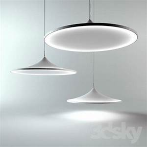 D models ceiling light barrisol lighting by ross lovegrove