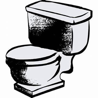 Toilet Clipart Bathroom Bowl Toilets Cliparts Silhouette