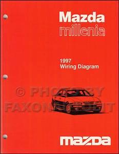 1997 Mazda Millenia Repair Shop Manual Original