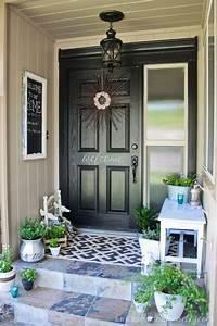 30, Cool, Small, Front, Porch, Design, Ideas