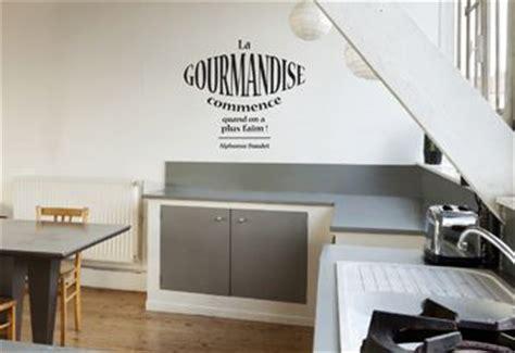 texte cuisine autocollant mural pour cuisine citation texte gourmandise