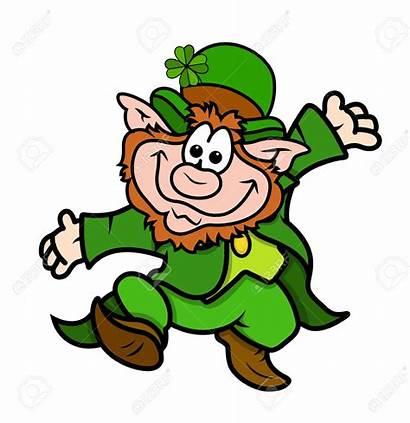Leprechaun Clipart Dancing Funny Happy Cartoon Clipground