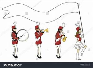 Marching Band Blank Banner Stock Vector 106455170 ...