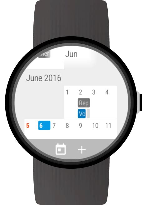 calendar for android wear android apps on play