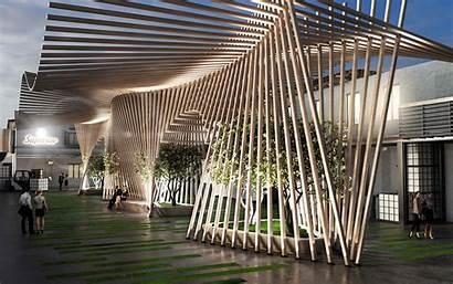 Architecture Superior Parametric Architects Aquilialberg Installation Florence