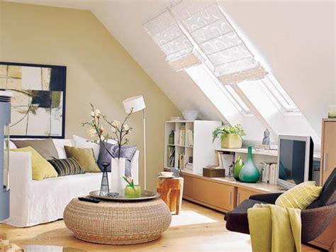 dachschraege wohnzimmer einrichten